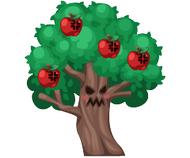 Angry apple tree
