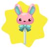 Bunny lollipop