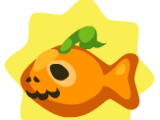 Orange Halloween Fish Biscuit (2010)