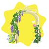 Wisteria Garden Arch