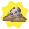 Evolving dinosaur egg