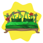 Jungle bed