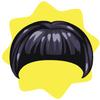 Vintage short bob wig