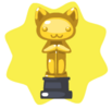 Pet award statuette