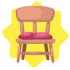 Carnival pink chair