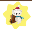WWF Polar Bear Cellist