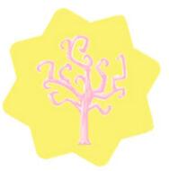 Pink Chocolate Egg Tree