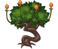 Floating Plum Tree