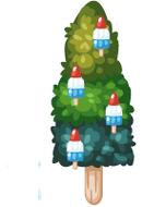 Rocket Popsicle Tree