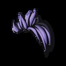 Violet-on-black