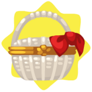 Chinese mystery food basket