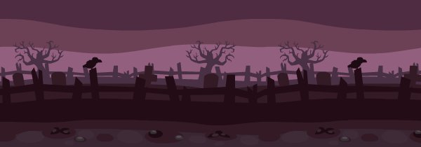 Spooky Halloween Graveyard Wallpaper