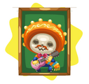Day of the Dead Boy Portrait