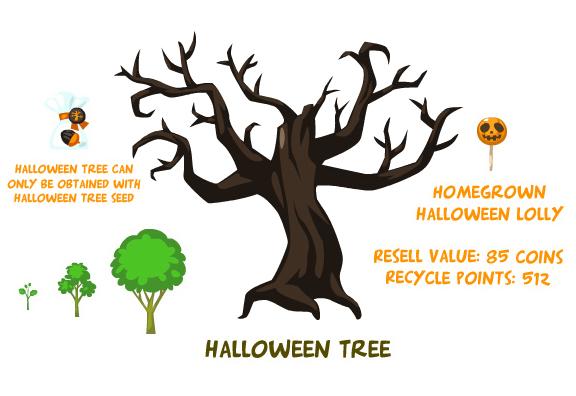 Halloween Tree | Pet Society Wiki | FANDOM powered by Wikia