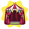Carnival tent
