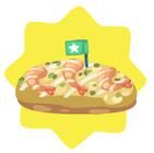Seafood okonamiyaki