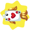 Ace of Hearts Fish