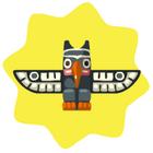 Eagle Totem Piece