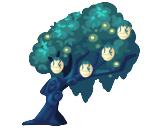 Magical Fireflies Tree