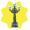 Iron Lamp Post