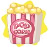 Fresh hot popcorn