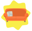 Comfortable couch