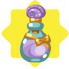 Purple shell perfume