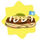 Noodles okonomiyaki