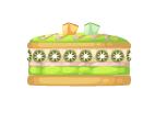 Kiwi vanilla cake