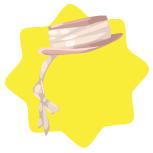 Mon petit cheri pink lady hat
