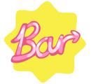 Restaurant bar neon sticker