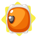Orange Mini Fridge