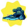 Blue lagoon decor