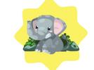 WWF Playful Sumatran Elephant