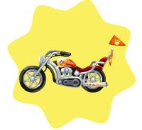 Rockability Motorcycle