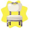 Grey classic chair