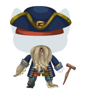 ,ythical pirate captian outfit
