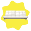 Stella two-seater sofa