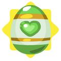 Emerald easter egg