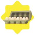 Carton of Farm Eggs