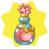 Pink coral perfume