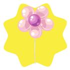 Pink flower balloon