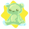 Ghostly bear plushie