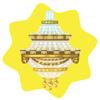 Opera house chandelier