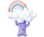 Pony paradise rainbow tree