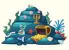 Mermaid kingdom treasure