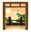 Time Changing Balcony Window