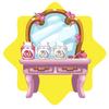 Rapunzel princess wig dye table