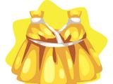 Golden Greek Goddess Dress