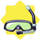 Snorkling mask